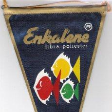 Banderines de colección: BANDERIN ENKALENE-AZUL-. Lote 26150532