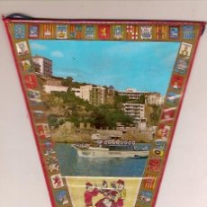 Fanions de collection: ANTIGUO BANDERIN SAN FELIU DE GUIXOLS. Lote 25411960
