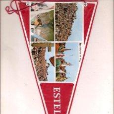 Banderines de colección: ANTIGUO BANDERIN DE ESTELLA NAVARRA. Lote 26652116
