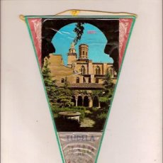 Banderines de colección: ANTIGUO BANDERIN DE TUDELA NAVARRA. Lote 23383993