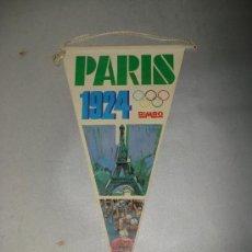 Banderines de colección: BIMBO . BANDERIN OLIMPIADAS DE PARIS 1924 - BIMBO.AÑO 1970S.. Lote 23564042