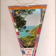 Fanions de collection: BANDERIN DE SANT FELIU DE GUIXOLS GIRONA. Lote 24766844
