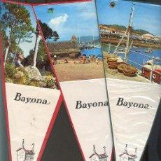 Banderines de colección: BAYONA LOTE DE 3. Lote 25746850