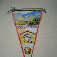 Banderines de colección: BANDERIN ANDORRA. Lote 25868507