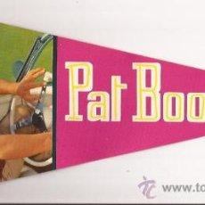 Banderines de colección: BANDERIN-PAT BOONE-ED.ESPAÑOLA-ED.MANDOLINA 1242-1964. Lote 26045434