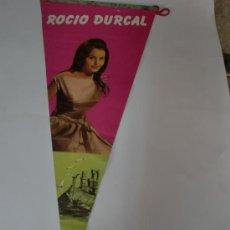 Banderines de colección: BANDERIN ROCIO DURCAL. Lote 26258471