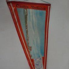 Banderines de colección: BANDERIN CASTRO URDIALES SANTANDER. Lote 26258904