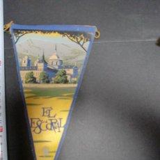 Banderines de colección: BANDERIN MADRID EL ESCORIAL ANTIGUO. Lote 26259027
