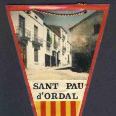 Banderines de colección: BANDERIN DE SANT PAU D' ORDAL. Lote 26331108