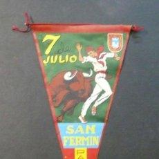 Banderines de colección: BANDERIN. SAN FERMIN. 7 DE JULIO SAN FERMIN. . Lote 27218091