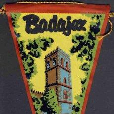 Banderines de colección: BANDERIN DE BADAJOZ. Lote 27144457