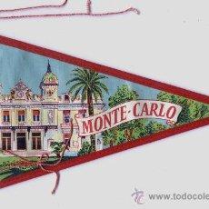 Banderines de colección: BANDERIN DE MONTECARLO (MÓNACO). Lote 28469197