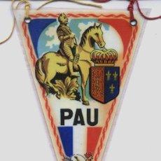 Banderines de colección: BANDERIN DE PAU (FRANCIA). Lote 28469636