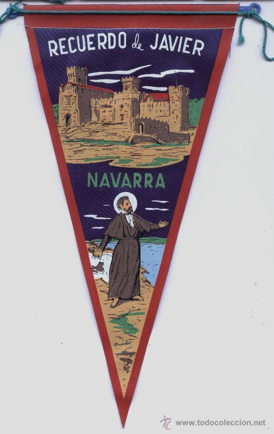 BANDERIN DE JAVIER (NAVARRA) (Coleccionismo - Banderines)