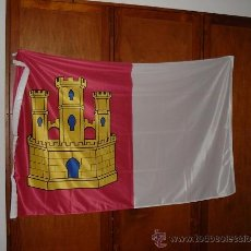 Banderines de colección: BANDERA DE CASTILLA LA MANCHA ESTAMPADA DE 150X100 A DOS CARAS.. Lote 28646205