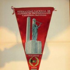 Banderines de colección: BANDERÍN. ALFERECES PROVISIONALES DE TOLEDO. Lote 29039934