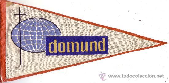 BANDERIN DEL DIA DEL DOMUND (Coleccionismo - Banderines)