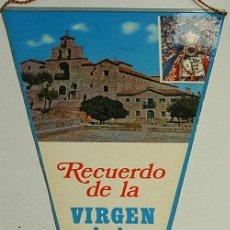 Banderines de colección: BANDERIN -RECUERDO VIRGEN DE LA CABEZA POR LAS 2 CARAS- ORIGINAL ANTIGUO-LEER DESCRIP. Y ENVIO. Lote 30966620