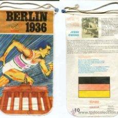 Banderines de colección: BANDERIN BIMBO OLIMPIADAS BERLIN 1936 - NUMERO 10. Lote 31180528