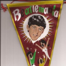 Banderines de colección: BANDERIN-BEATLES-PAUL MCCARTNEY-BEATLEMANIA-. Lote 31335932