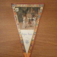 Banderines de colección: BANDERIN - REGION VASCA - . Lote 31577874