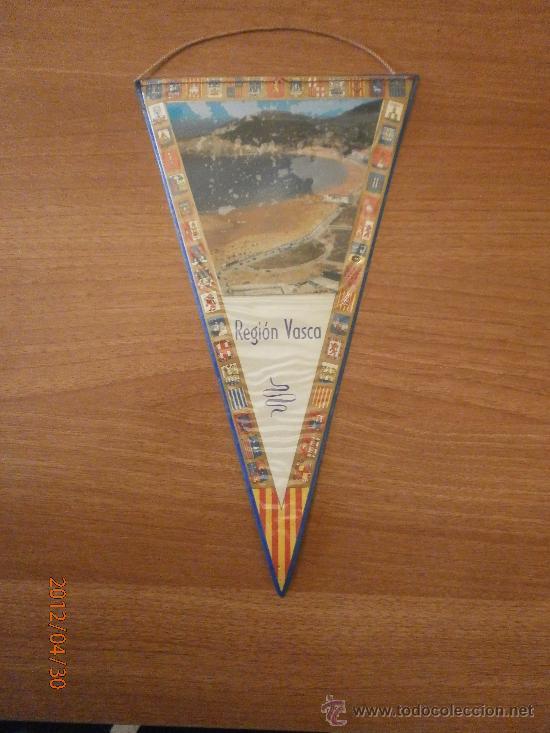 BANDERIN REGION VASCA (Coleccionismo - Banderines)