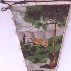Banderines de colección: BANDERIN. SANTUARIO DE STA. AFRA, GINESTA . Lote 32225943