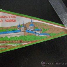 Banderines de colección: BANDERIN : MONASTERIO DEL ESCORIAL . AÑOS 50 .. Lote 32298345