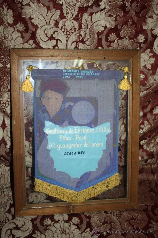 Banderines de colección: K2-004. BANDERÍN DELS JOCS FLORALS DE LA LLENGUA CATALANA A PARÍS 1959 FIRMADO ENRIQUEZ - Foto 9 - 32636642