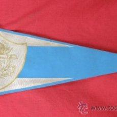 Banderines de colección: BANDERIN IMPRESO EN TELA LEMA MENS SANA IN CORPORE SANO SIGLAS CLE AÑOS 50. Lote 33526137