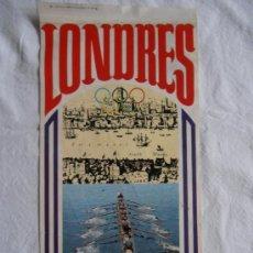 Banderines de colección: BANDERIN BIMBO LONDRES 1908. Lote 34608138