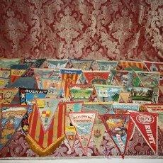 Banderines de colección: GRAN COLECCIÓN DE BANDERINES - LA MAYORÍA DE LOCALIDADES DE CATALUÑA - AÑOS 30-40. Lote 35728849