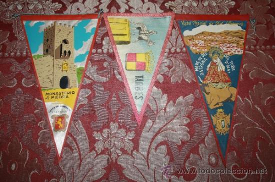 Banderines de colección: GRAN COLECCIÓN DE BANDERINES - LA MAYORÍA DE LOCALIDADES DE CATALUÑA - AÑOS 30-40 - Foto 7 - 35728849