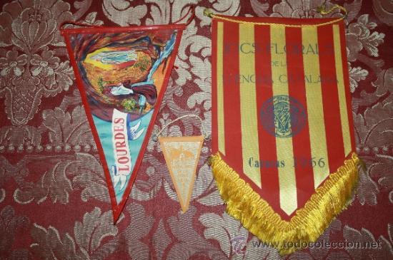 Banderines de colección: GRAN COLECCIÓN DE BANDERINES - LA MAYORÍA DE LOCALIDADES DE CATALUÑA - AÑOS 30-40 - Foto 12 - 35728849