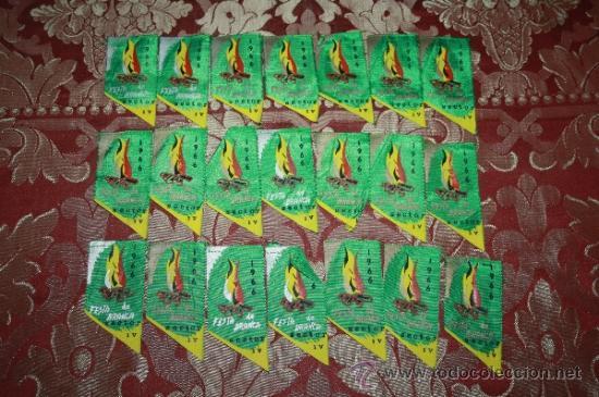 Banderines de colección: GRAN COLECCIÓN DE BANDERINES - LA MAYORÍA DE LOCALIDADES DE CATALUÑA - AÑOS 30-40 - Foto 15 - 35728849