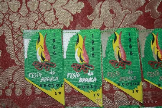 Banderines de colección: GRAN COLECCIÓN DE BANDERINES - LA MAYORÍA DE LOCALIDADES DE CATALUÑA - AÑOS 30-40 - Foto 16 - 35728849