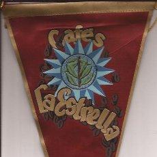 Banderines de colección: BANDERIN-CAFES LA ESTRELLA-PUBLICIDAD AÑOS 60. Lote 35933484