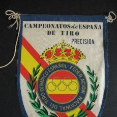 Banderines de colección: BANDERIN TIRO OLIMPICO.1977.. Lote 36859689