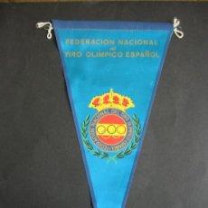 Banderines de colección: BANDERIN TIRO OLIMPICO.. Lote 36859733