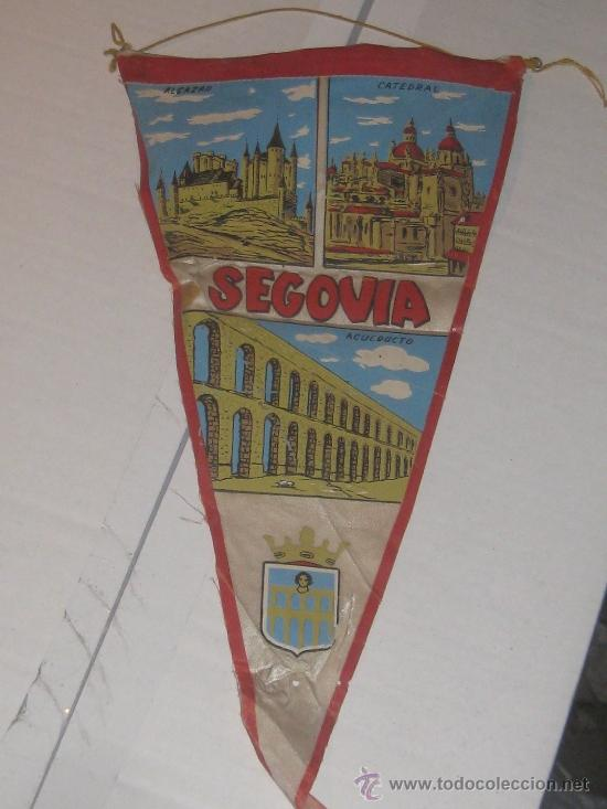 ANTIGUO BANDERIN SEGOVIA (Coleccionismo - Banderines)