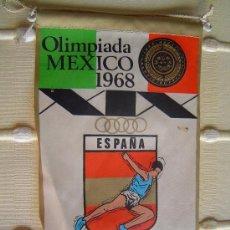 Banderines de colección: BANDERIN OLIMPIADA MEXICO 1968 .. Lote 38578325