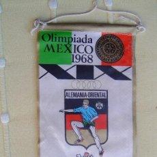 Banderines de colección: BANDERIN OLIMPIADA MEXICO 1968 .. Lote 38578648