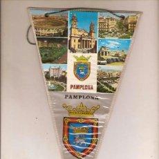 Banderines de colección: BANDERIN PAMPLONA NAVARRA. Lote 38925439