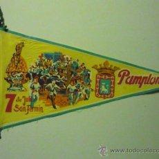 Banderines de colección: BANDERIN PAMPLONA - 7 JULIO S.FERMIN. Lote 38943330