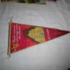 Banderines de colección: BANDERIN HOGAR DE SAN JOSE GIJON 1963 . Lote 39302759