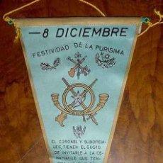 Banderines de colección: ANTIGUO BANDERIN DE EL TERCIO SAHARIANO ALEJANDRO FARNESIO DE LA LEGION EN VILLA CISNEROS 1964 - FES. Lote 38250147