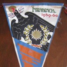 Banderines de colección: ANTIGUO BANDERIN INTENDENCIA 1959 / 60 - SIDI IFINI - SAHARA - IFNI - MIDE 30 CMS APROX. - TAL Y CO. Lote 38262993