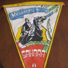 Banderines de colección: ANTIGUO BANDERIN RECUERDO DEL SAHARA - AAIUN - SIDI IFNI - MIDE 30 CMS APROX. - TAL Y COMO SE VE EN . Lote 38262994