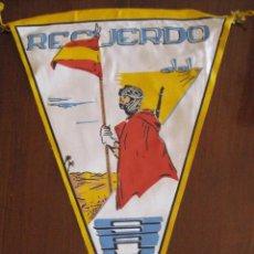 Banderines de colección: ANTIGUO BANDERIN RECUERDO DEL SAHARA - SIDI IFNI - MIDE 30 CMS APROX. - TAL Y COMO SE VE EN LA FOTO. Lote 38262996