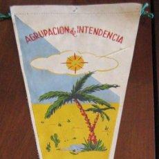 Banderines de colección: ANTIGUO BANDERIN AGRUPACION DE INTENDENCIA - SAHARA - MIDE 30 CMS APROX.. - TAL Y COMO SE VE EN LA . Lote 38263024